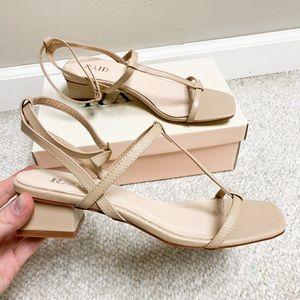 Lulus short heeled sandals!